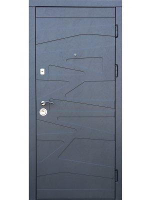 Дверь Лайт маренго цемент/цемент миндаль
